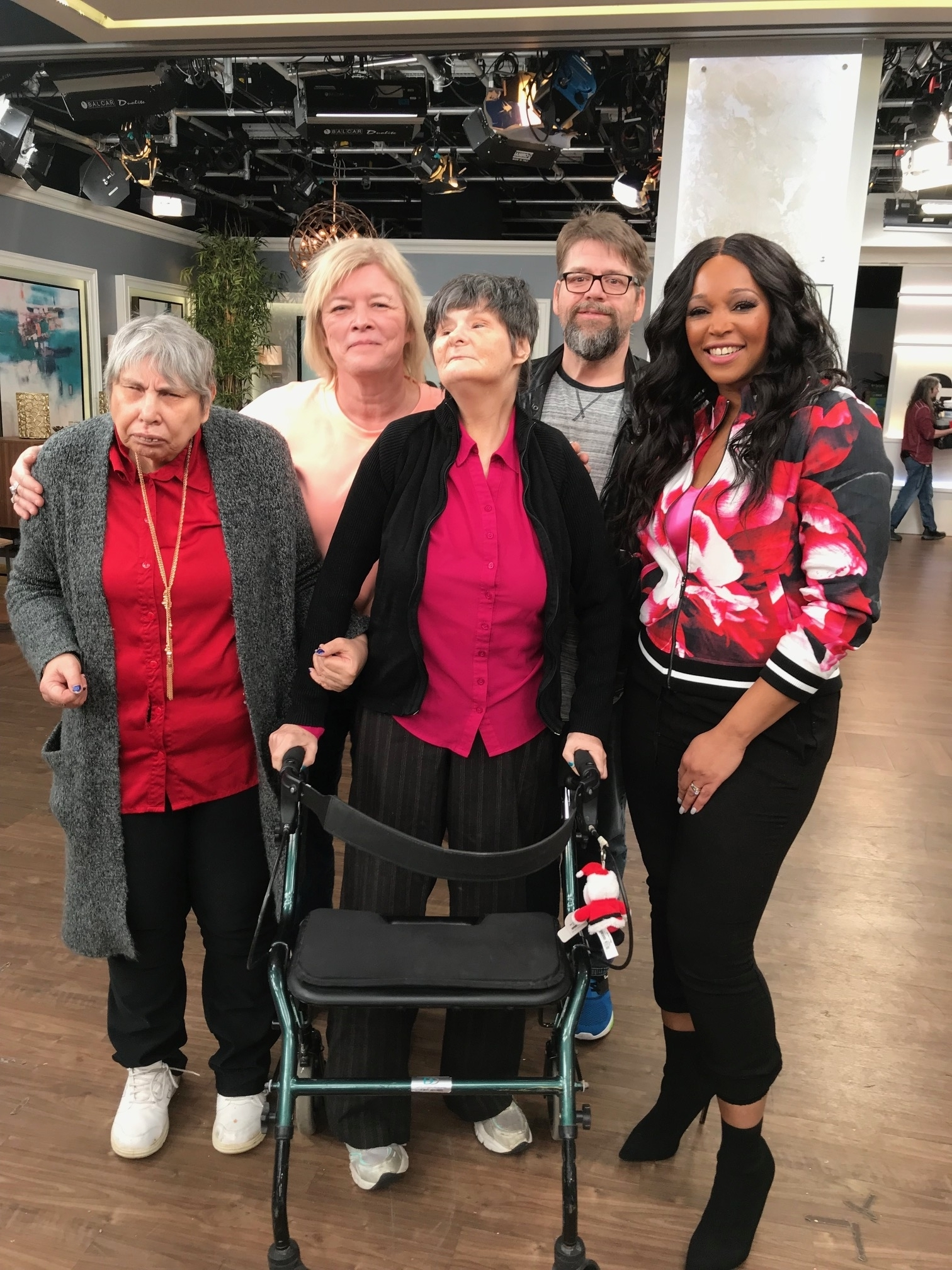 Yvonne and Susan at city line morning show Jan 2019
