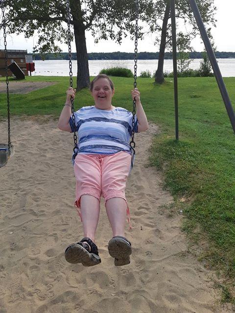 Linda at Park July 2019