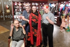 Jeff, Jason& Blaine at Medieval Times