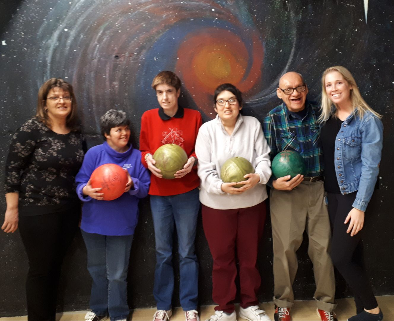Don, Laura, Lindsey, Susan Bowling March 2019