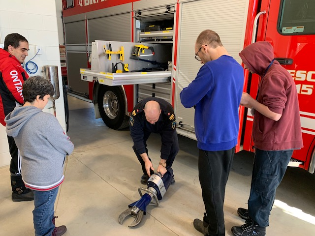 Fire Hall visit March 2019 12