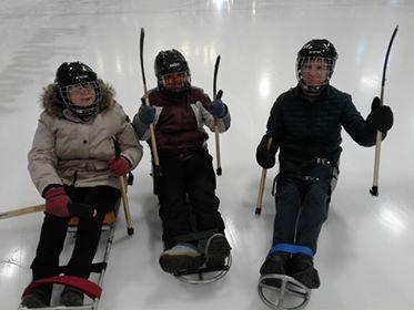 Sledge Hockey March 2019 Gravenhurst