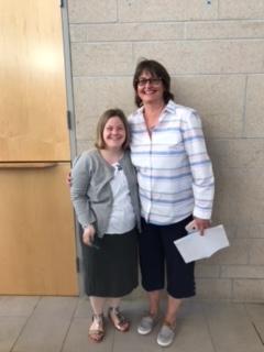 Kathy and Jennifer Award