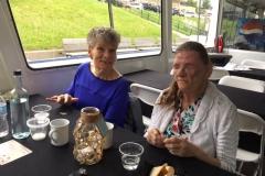 Char & Gail Pines volunteeer luncheon on Lady Muskoka June 2019