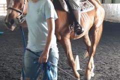 Linda horseback riding June 2019