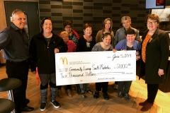 McDonalds Big Mac Donation June 2019