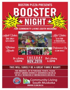 BP Booster Night - Save the Date!