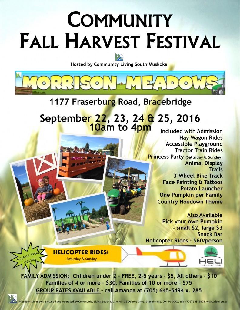 Fall Festival Flyer 2016 - Vertical
