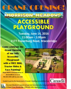 Grand Opening - Accessible Playground