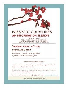 passport info session flyer