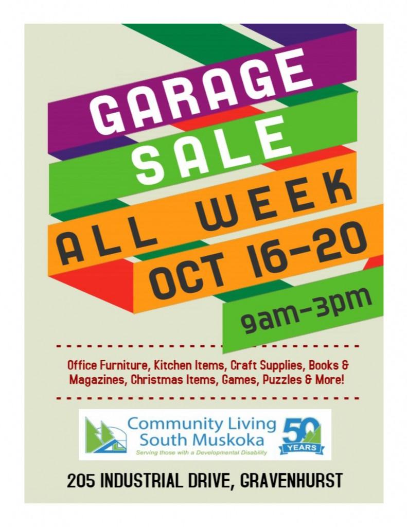 Garage Sale Flyer1