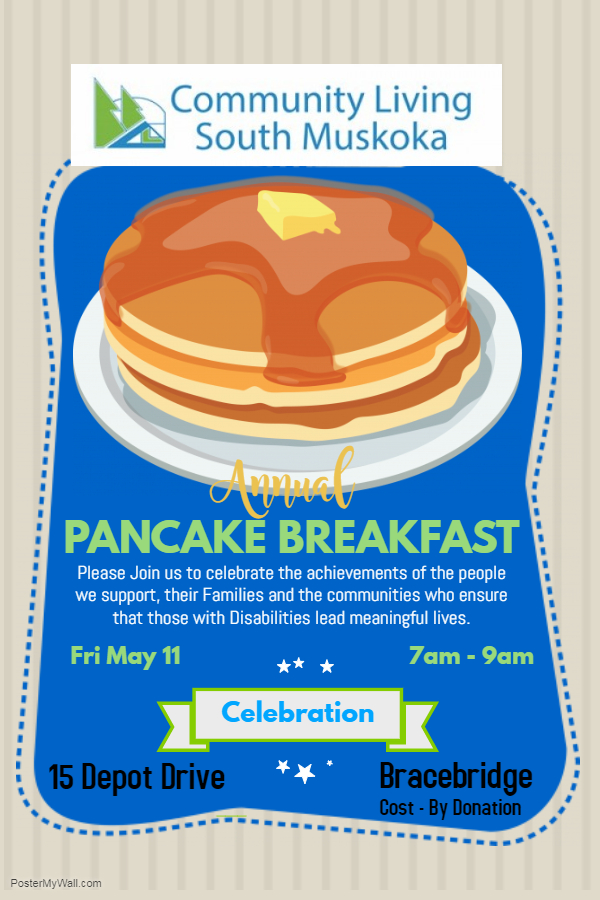 Copy of Pancake Fundraiser Poster